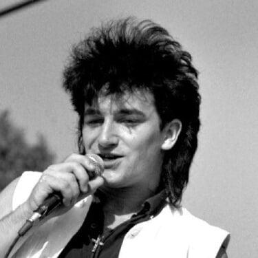 U2 ボノ 若い頃 画像